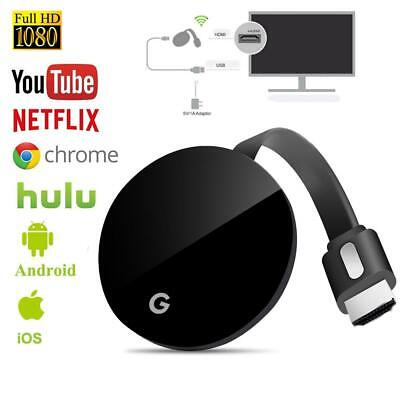 Chromecast 3rd Generation HDMI Video Digital Streamer Dongle TV Stick HD 1080P