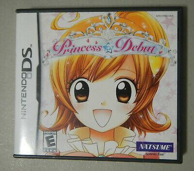 Princess Debut for Nintendo DS  by Natsume Complete CIB