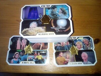 Star Trek Tos 50Th Anniversary Complete Base Set 80 Cards