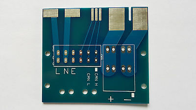 1x PCB power connector for Eltek Flatpack HE  Flatpack