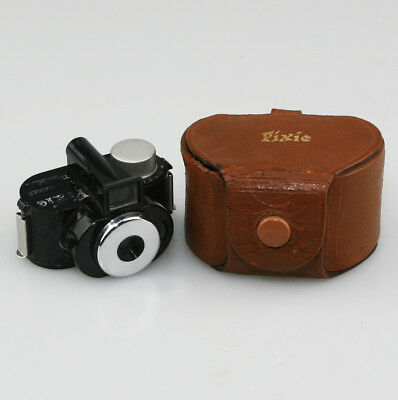 WHITTAKER Pixie Subminiature Micro 16mm Camera c.1950 with Case (WZ68)