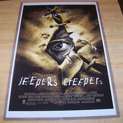 Jeepers Creepers 11X17 Original Movie Poster Jonathan Breck