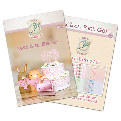 Cutting Craftorium Love Is In The Air USB and CD ROM