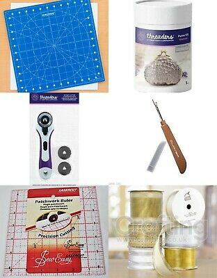 "Duroedge  12"" x 12"" Rotating Mat quilting sewing bundle"