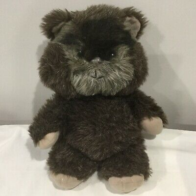 Vintage Kenner Star Wars Plush Soft Toy Ewok Paploo 1984 Star Wars Toy 1980s