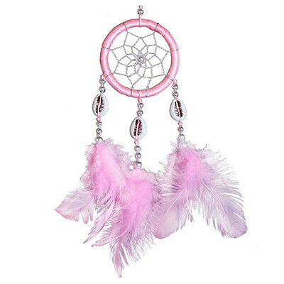 Mini Dream Catcher Circular Net With feathers Wall Hanging Decoration Ornam Q6I1