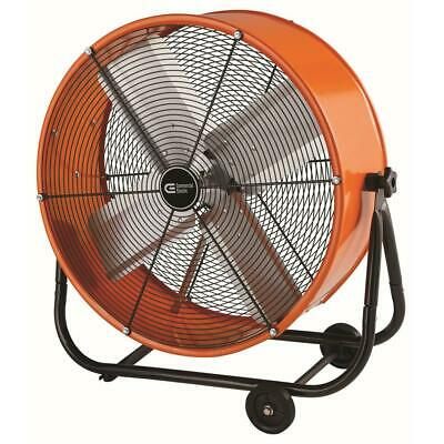 Commercial Electric 2-Speed Direct Drive Tilt Drum Fan Heavy Duty 24 Inches