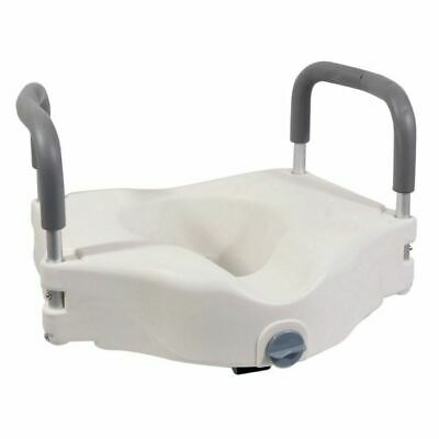 Aidapt Viscount Raised 6'' Toilet Seat With Removable Arms. Slight seconds