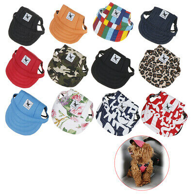 Pet Dog's Hat Baseball Cap Windproof Travel Sports Sun Hats for Puppy Large H@M