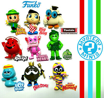 Funko mystery minis Ad Icons boo berry, frankenberry Lucky Charms