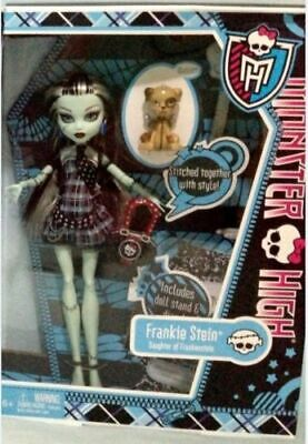 MONSTER HIGH doll ORIGINAL - FRANKIE STEIN daughter of frankenstein NEW mattel