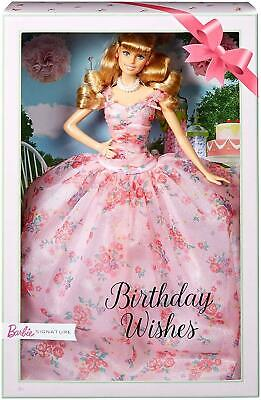 Barbie Collector Birthday Wishes Doll FXC76