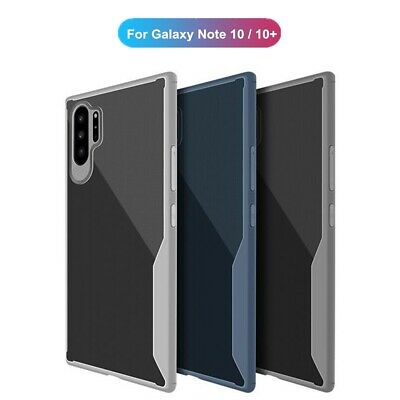 For Samsung Galaxy Note 10 Plus Case Shockproof Hybrid Soft Rubber Slim Cover