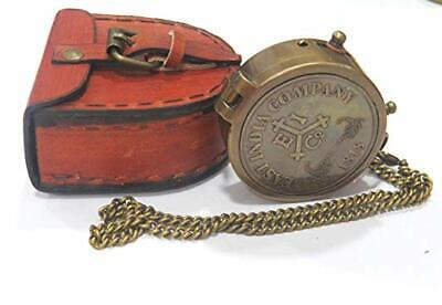 Brass Compass Engraved 1818 East India Company -Personalized Compass