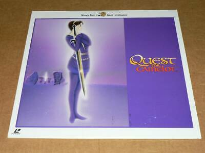 Free Shipping LD Quest for Camelot bilingual version of Frederick du show, Cel