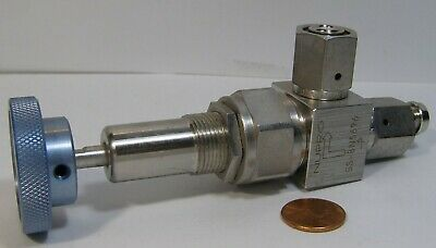 Nupro Ss-Bn5696-P Valve With Adjustable Handle