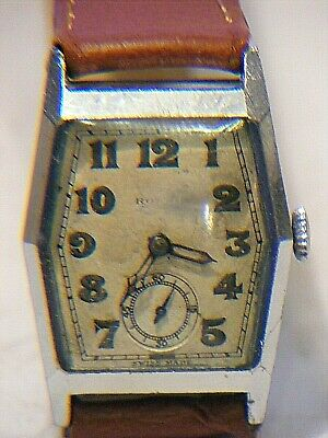 ANTIQUE ROLEX Unicorn Movement Watch And Case Rolex Officers