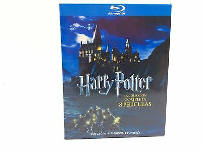 Pelicula Bluray Harry Potter La Coleccion Completa 5021373