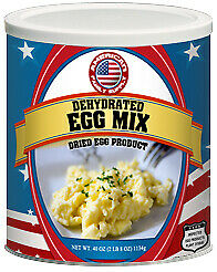 Fresh and Honest Foods Dehydrated Scrambled Egg Mix 40 OZ #10 Can