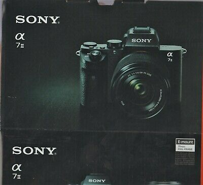 Sony a 7II Mirrorless (full frame) Camera with 28 - 70 Sony Lens