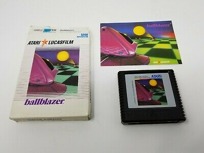 Ballblazer for the Atari 5200 Game Console (CIB) Complete In Box and TESTED