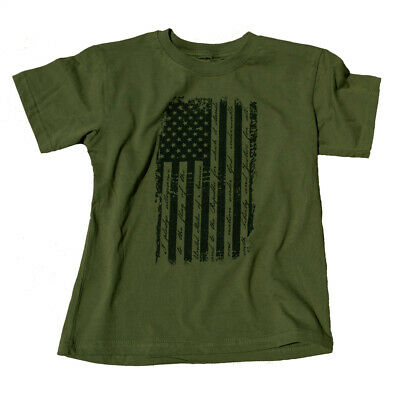 Trooper Clothing Old Glory Distressed Flag T-Shirt