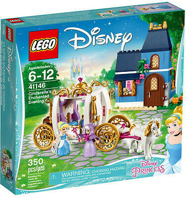 Lego 41146 Disney Princess Cinderella's Enchanted Evening New and Sealed