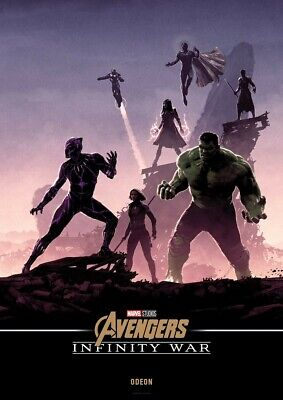 Avengers: Infinity War, Limited Edition Poster, Odeon Exclusive, A4 Hulk