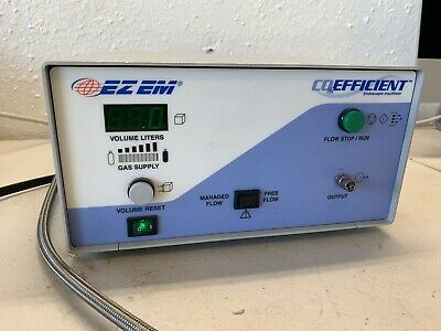 EZ EM CO2Efficient Endoscopic Insufflator 6600 EZ-EM CO2 Efficient with New Yoke
