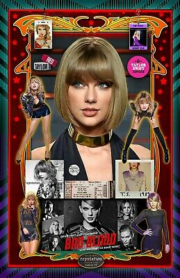 """Buy this 11x17"""" Taylor Swift Poster & pick out another poster at our store FREE"""