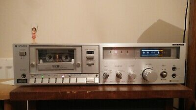 HITACHI D-75S tape deck recorder