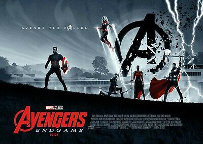 Avengers: Endgame Limited Edition A3 Poster  Odeon Exclusive Captain America