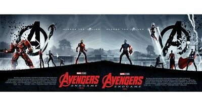 Avengers: Endgame Limited Edition A3 Poster set x2 Odeon Exclusive