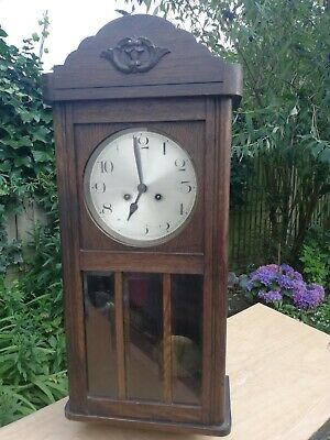 Large Old Fashioned Wall Clock