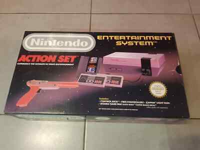 Console Nintendo NES pack Action Set complet !
