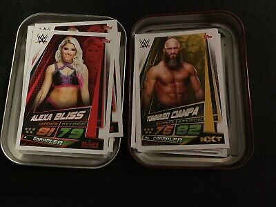 Slam Attax Universe  Mini tin Plus 55 Cards No Duplicates