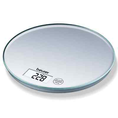 Beurer Kitchen Scales KS 28 5kg Silver Food Weighing Scales Measure Scales