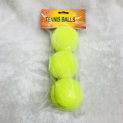 12 Pcs Professional Rubber Tennis Balls Toys with Good Bounce Outdoor Training