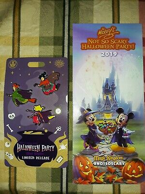 Mickey's not So Scary Halloween Party 2019 Hocus Pocus Sanderson Sisters Pin Set