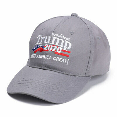 Customized Trump 2020 Embroidered Baseball Hat Keep Make America Great Cap Hot