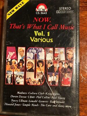 Now Thats What I Call Music Vol 1 Cassette