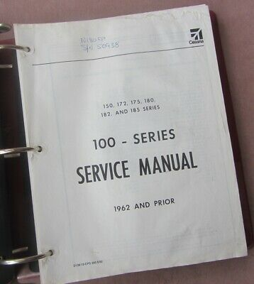 CESSNA 172 SERVICE Manuals Parts Manuals Collection hundreds