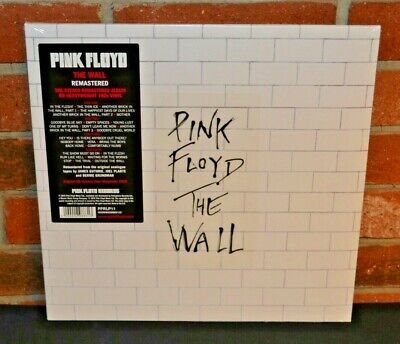 PINK FLOYD - The Wall, Import Remastered 180G 2LP BLACK VINYL Gatefold Sealed!