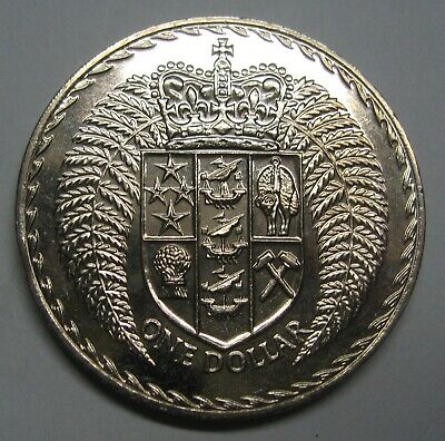 1975 New Zealand One Dollar Coin Take a Look