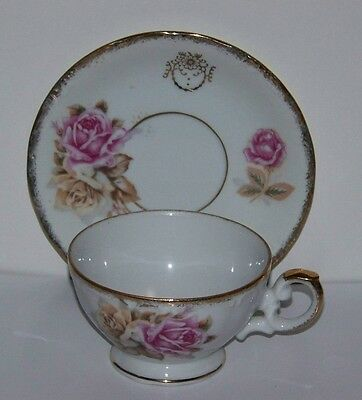 Norleans Bone China Cup and Saucer Made in Japan