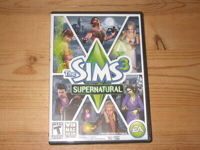 THE SIMS 3: Expansion Packs / Ambitions and Supernatural