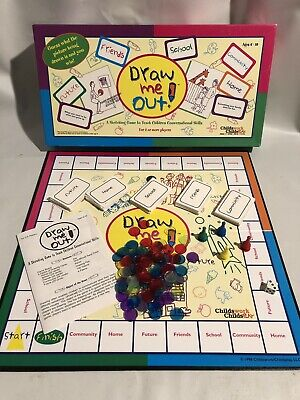 Draw Me Out Therapeutic Board Game Childs Work Childs Play