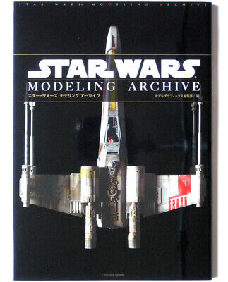 Star Wars Modeling Archive Book Model Graphix Magazine Bandai