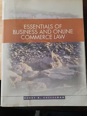 Essentials of Business and Online Commerce Law by Henry Cheeseman