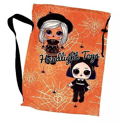 1 LOL Surprise Doll Halloween Treat Bag Tote Sling  Costume Winter OMG Ball HTF